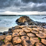 Giant's Causeway. County Antrim. Ogre is coming.