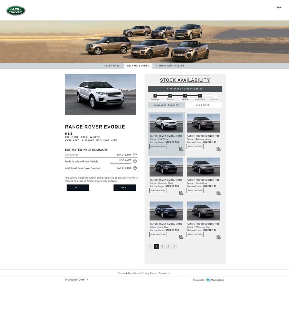 Jaguar Land Rover's new 'Buy Online' e-commerce platform i… | Flickr