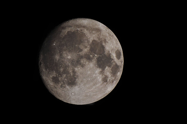 a detailed moon