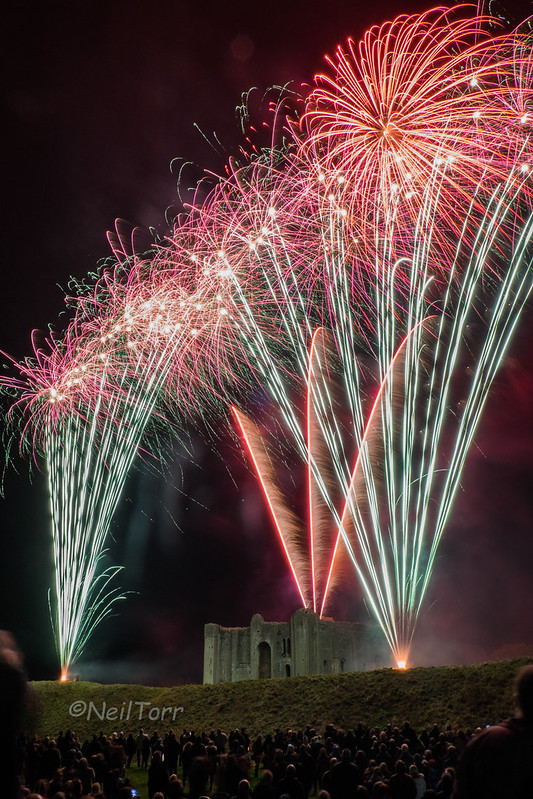 Castle Rising Fireworks 8