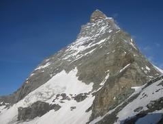Matterhorn from Hörnlihütte, Swiss Alps