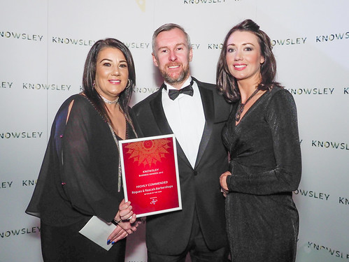 Retailer of the Year Highly Commended - Rogues and Rascals Barbershops | by Knowsley Council