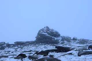 061 Cac Carn Mor cairn in cloud | by rfidhxjn58