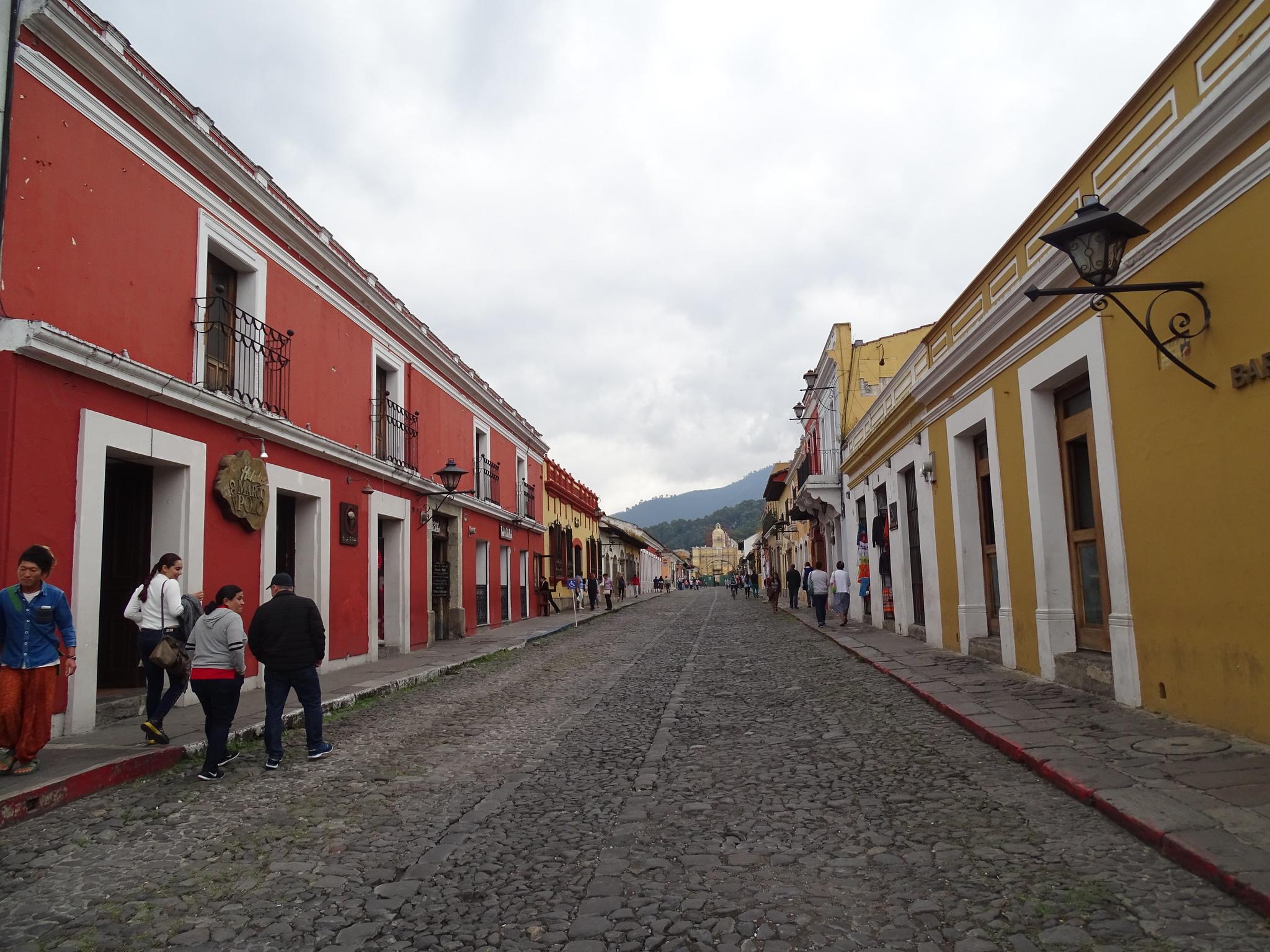 Calle de Antigua Guatemala
