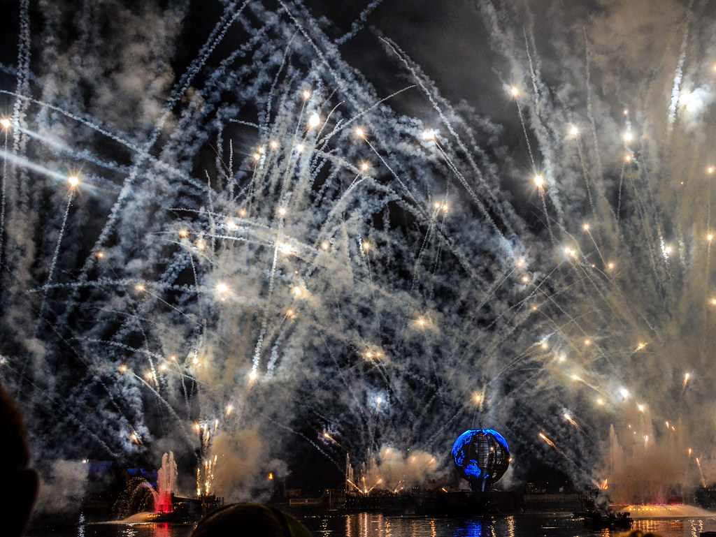 Illuminations finale Epcot