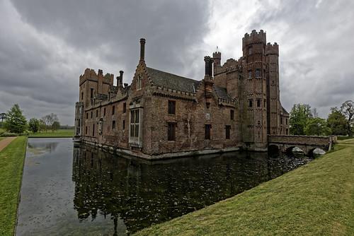 castle england landscape nationaltrust norfolk oxburghhall spring historical statelyhome nikon