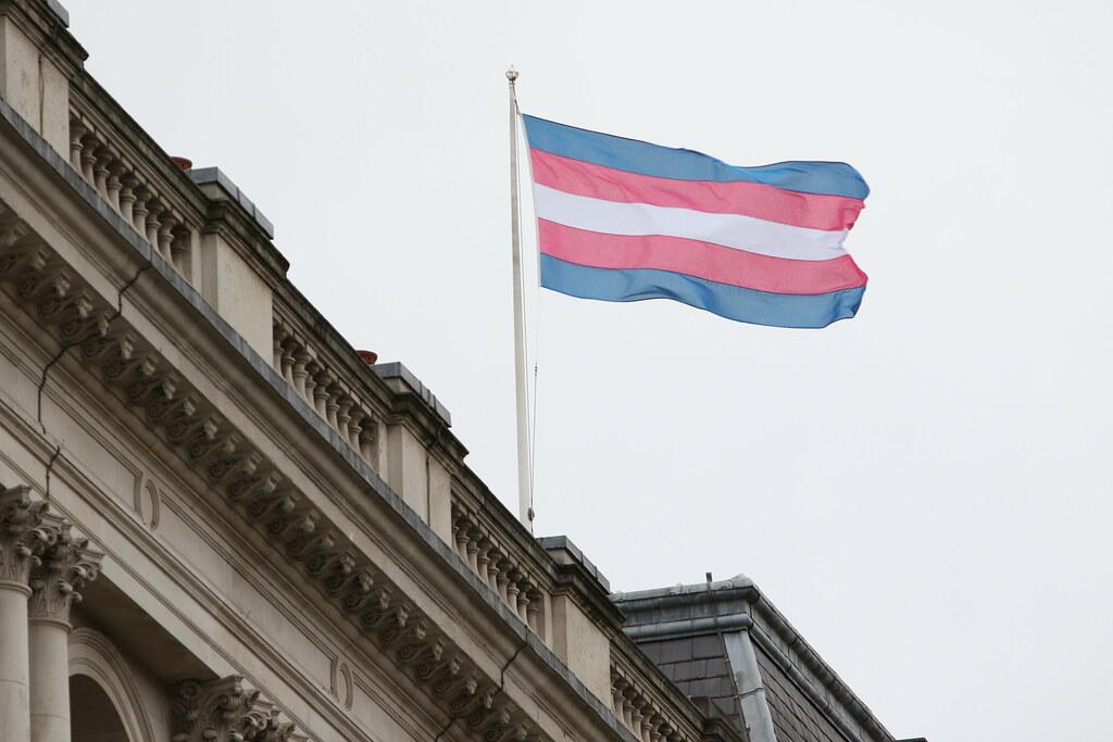 Transgender Pride Flag | The Transgender Pride Flag flies on… | Flickr
