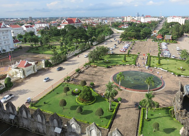 Downtown Vientiane, Laos