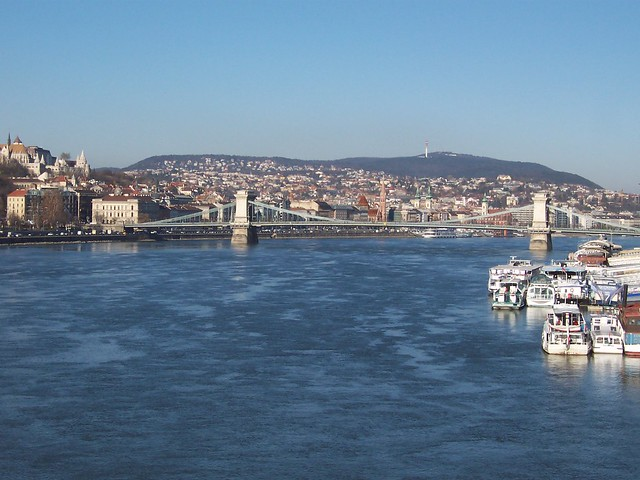 Chain Bridge across the Danube - Budapest