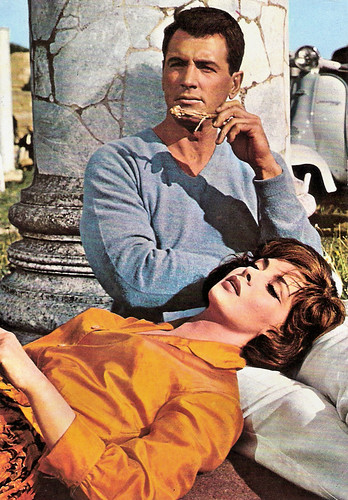 Gina Lollobrigida and Rock Hudson in Come September (1961)