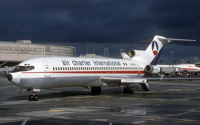 F-BPJU Boeing 727-214