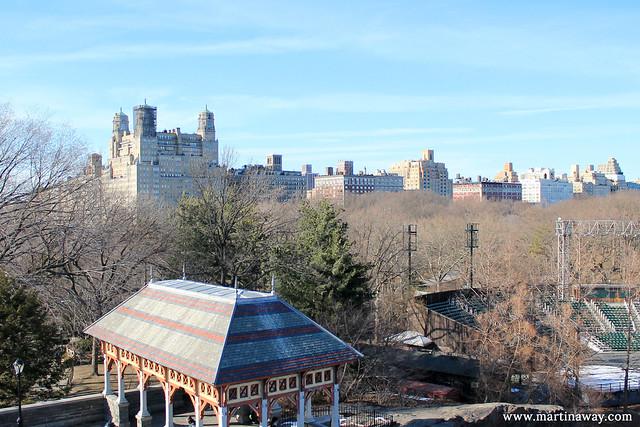 Vista dal Belvedere Castle