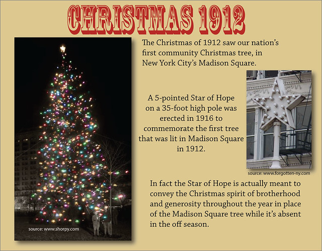 First Community Christmas Tree 1912