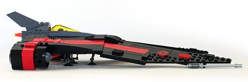 Aurek-Wing Fighter side | by Oky - Space Ranger