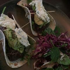 Mmmmm tacos! #tacos #caffiend #lucasloveshashtags