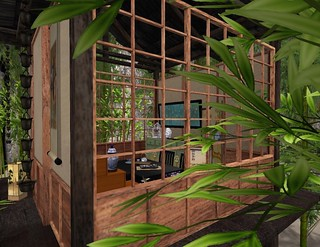 The Challenge: Asian (Tea House Side View)   by Hidden Gems in Second Life (Interior Designer)