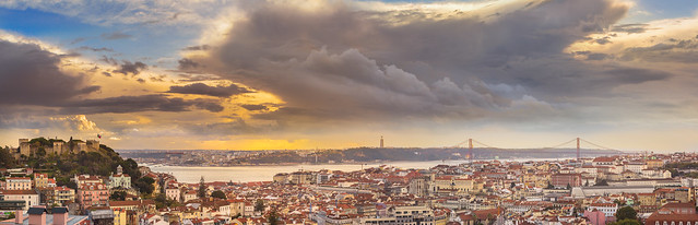 Lisbon's winter shades