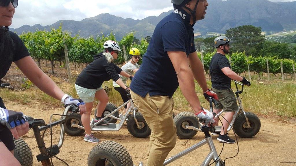 Scootours @ Franschhoek