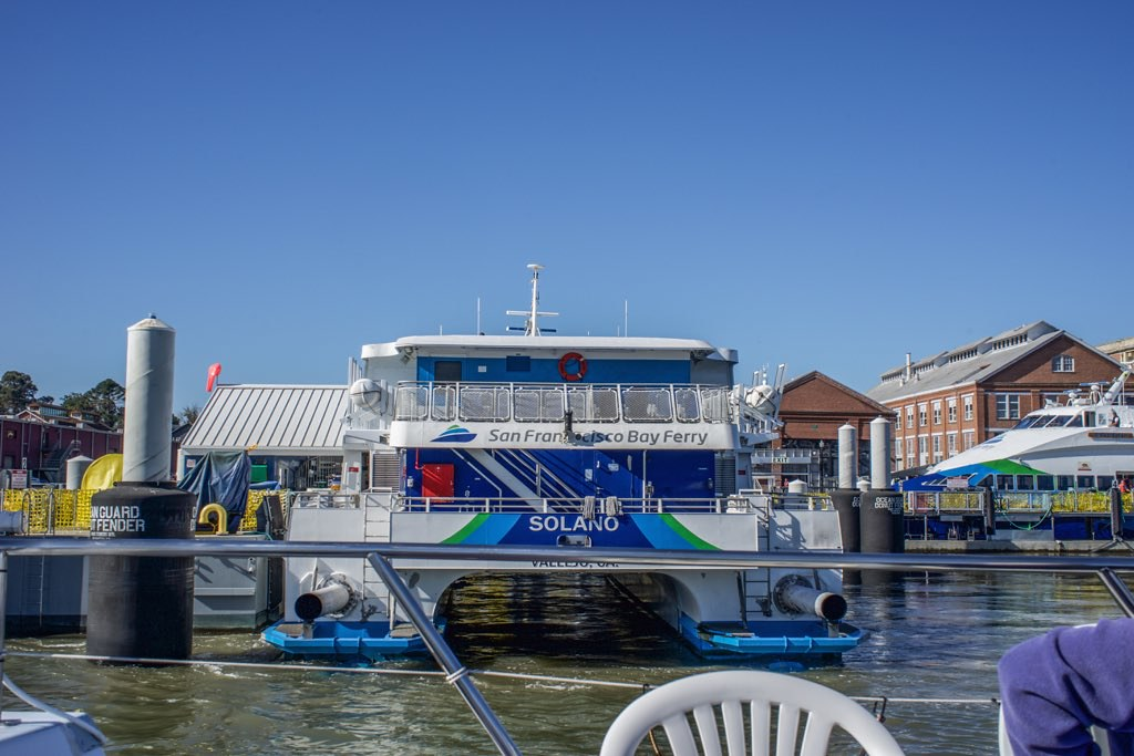 Vallejo Ferry Terminal Mare Island Route San Francis Flickr