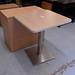 Oak cafe table E80