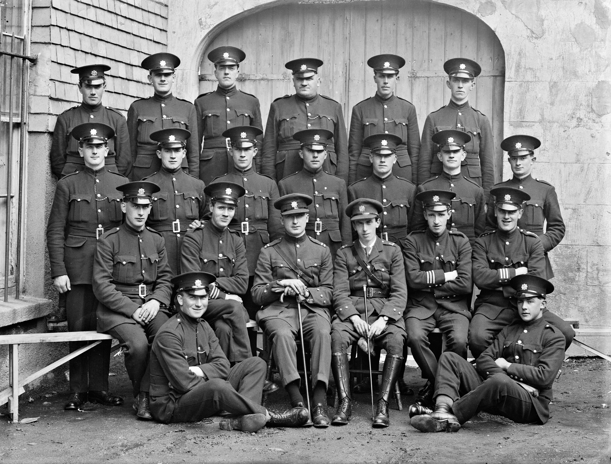 Civic Guards Wexford, group