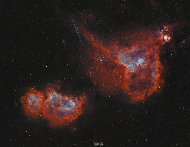 Heart And Soul Nebulae BiColor ასტრო