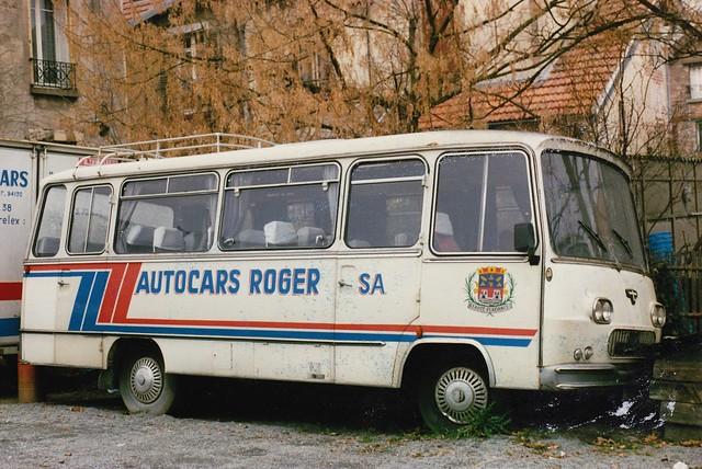 Van Hool Fiat Autocars Roger Arpajon (91 Essonne) 1986a
