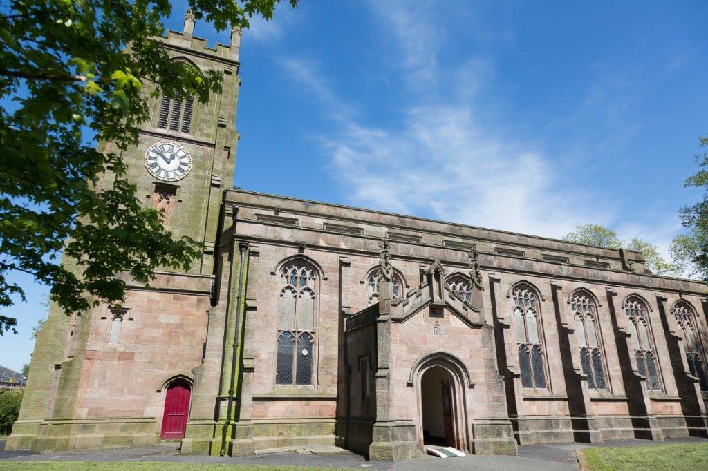 Lancashire, DARWEN, St Peter