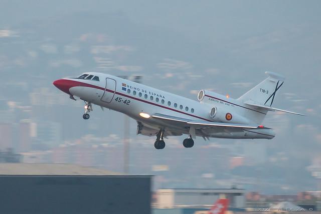 Ejercito del Aire Falcon 900b T18.3