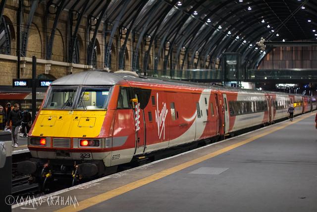 DVT 82223, London King's Cross