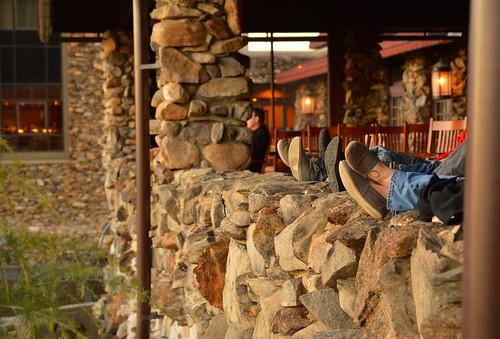 asheville northcarolina nc groveparkinn sunsetterrace sunset stone artsandcraftsstyle