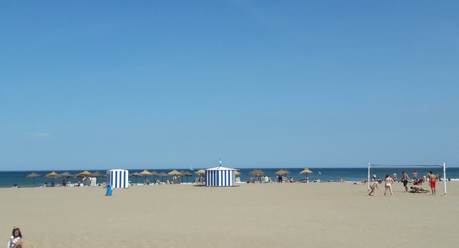 Strand in Valencia | Mooistestedentrips.nl
