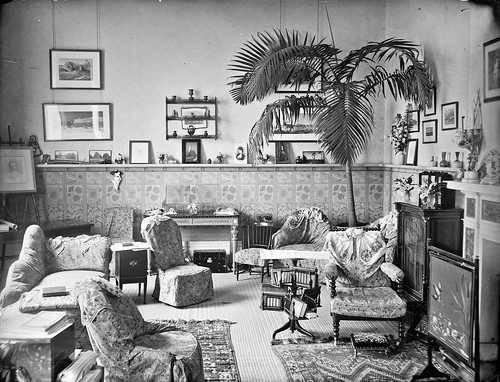 Vice-Regal Lodge Boudoir, Dublin City, Co. Dublin | by National Library of Ireland on The Commons