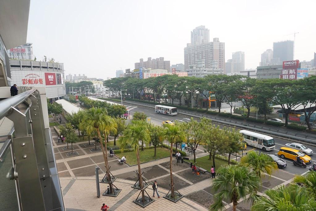 駅前広場俯瞰
