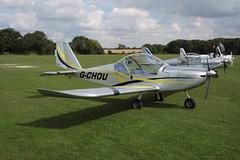 G-CHOU Evektor EV-97 [4102] Sywell 010917