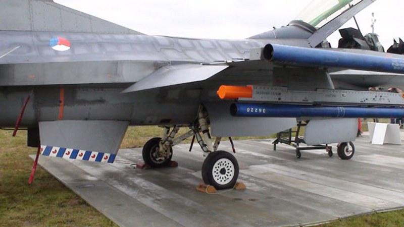F-16BM MLU 1