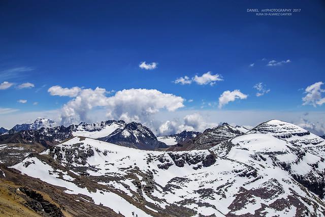 Cordillera Real de los Andes, Zona Huayna Potosí