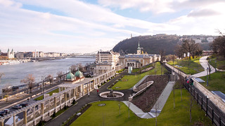 Budapest castle gardens