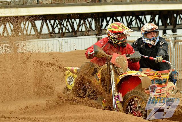 Alun Davies/Evan Williams, Dyfed Dirtbike Club KTM VMC 590cc 4-Stroke, 2017 AMCA Skegness Beach Motocross, Quads & Sidecars, 4th November