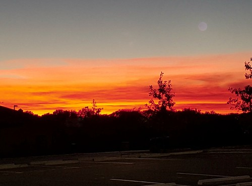 sunset sky beauty bright fiery clearsky dramatic dusk red weather weatherphotography