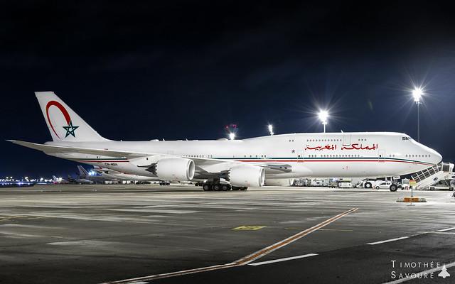 CDG   Morocco Government Boeing 747-8I (BBJ)