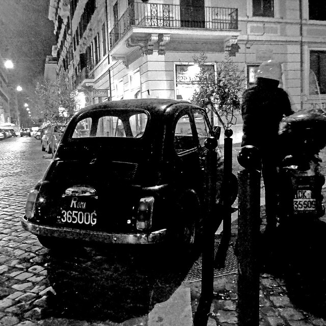 Fiat 500 - Rome by Night