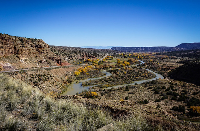 River valley, Carson National Forest near Ghost Ranch