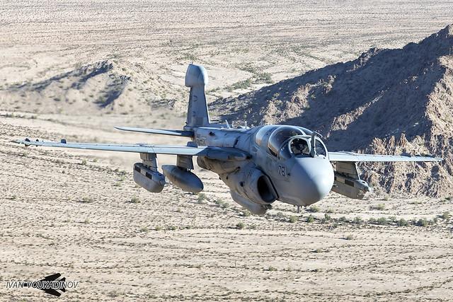 EA-6B 163046 VMAQ-2 WTI 18-1