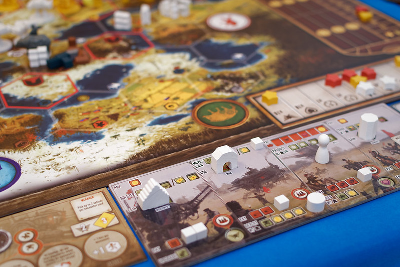 Top 10 Strategy Board Games for Adults Scythe Player Mat