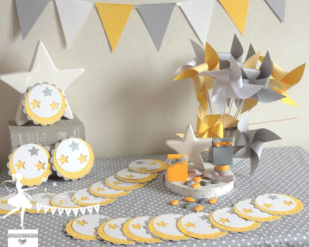 Decoration Bapteme Baby Shower Anniversaire Faire Part Ron