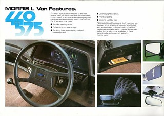 Morris Ital 440 and 575 Pickup and Van Brochure 1983 (8) | by Trigger's Retro Road Tests!
