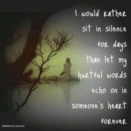 Sad Love Quotes I Would Rather Sit In Silence For Days T Flickr