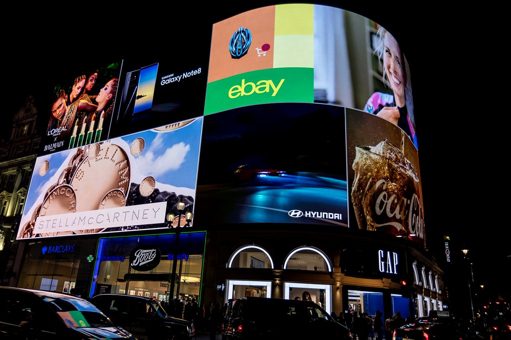 Piccadilly Lights, one of the UK's most iconic landmarks and a globally-recognised advertising space has been having a makeover, and re-launched in October 2017. Landsec, the owner of Piccadilly Lights, has replaced the original patchwork of screens with a single state-of-the-art  4K LED digital screen and live technology hub, which allows the screen to react to certain external factors, such as the weather or temperature. This feature enables brands to display creative and innovative content, such as weather-appropriate clothing.