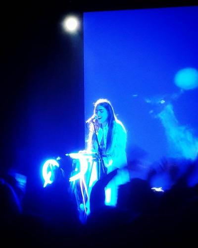 Joan Thiele - You & I #music #concert #play #fun #life #night #lights #blue #santeria #milano #milAmo #igers #igersitalia #igersmilano #song #sing #joanthiele #piano #love #happy #amazing #followme #instagood | by Mario De Carli